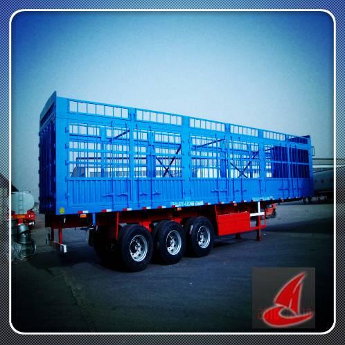 Warehouse cargo semi-trailer