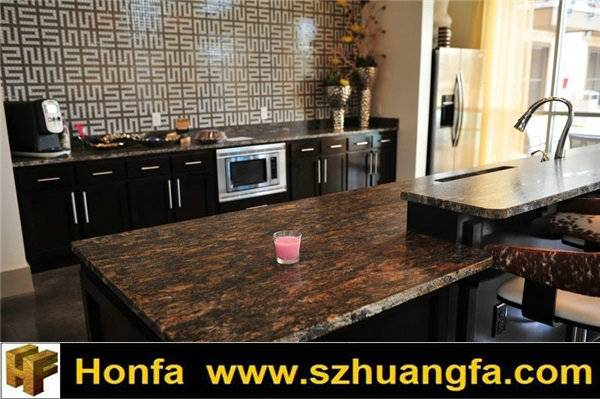 Brazil Multicolor Exotic Orion Granite Countertop