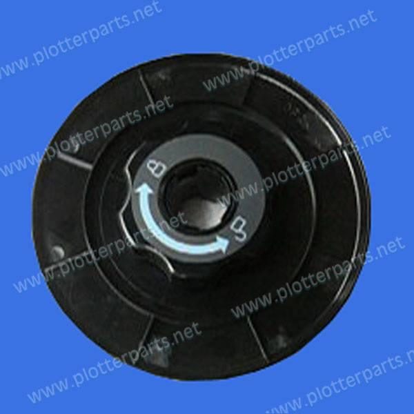 Q6665-60079 Media feed flange - Located on the media feed assemblies for HP DesignJet 9000S 9000SF