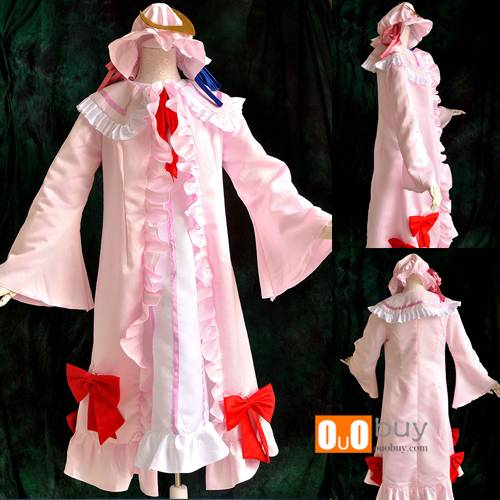 Selling Scarlet Weather Rhapsody Patchouli Knowledge Western style clothes Cosplay Costume