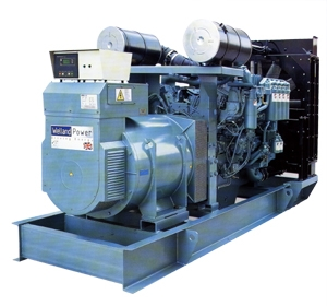 Used  Truck  Engine  with  Generator / Assistant  Drive
