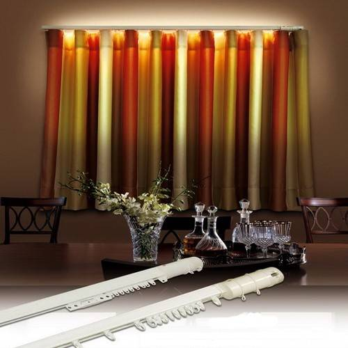 Bintronic Motorized Curtain Tracks with LED (BT-LCT)
