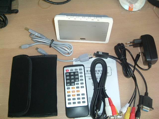 Portable OTG HDD Media Player