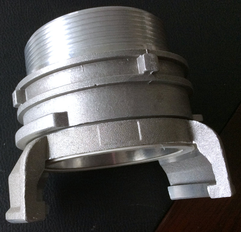 Half Male Guillemin Coupling with lock