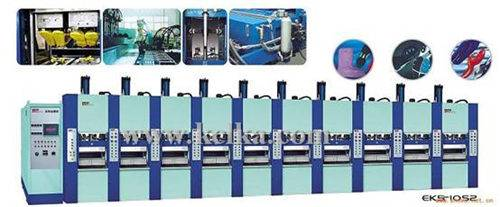 FULL-AUTOMATIC WEIGHTING FOAM MOLDING MACHINE