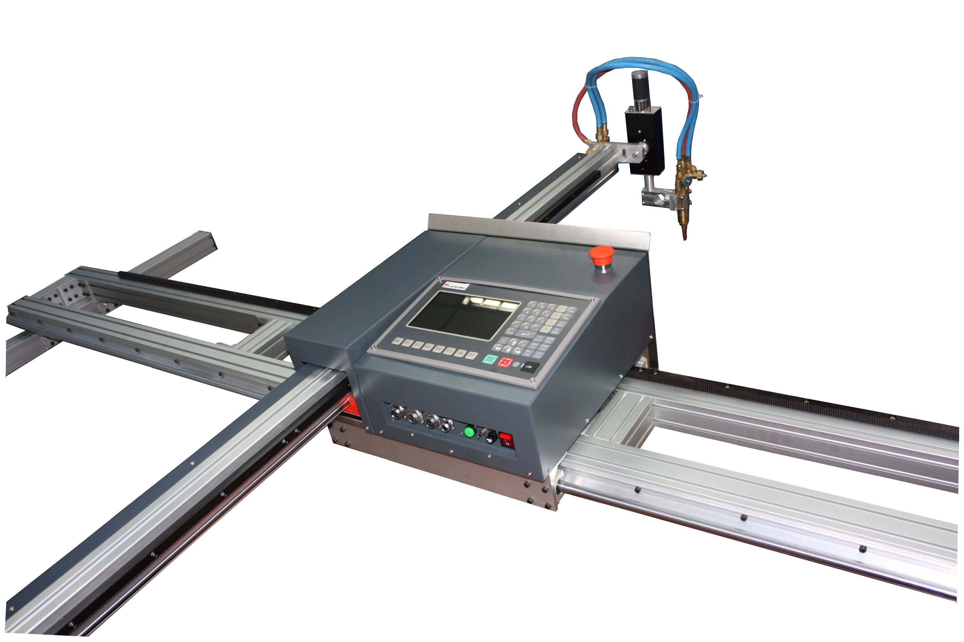 SNR portable CNC plamsa and flame cutting machine from China