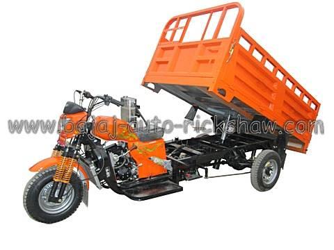 Bajaj Auto Rickshaw cargo dumper motor tricycle BA200ZH-F