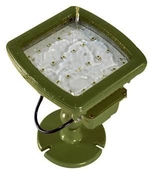 LED Military Area Light 40W, 80W, 120W, 150W, 185W UL, CUL, CE, ATEX, RoHS, CNEX, SAA, PSE