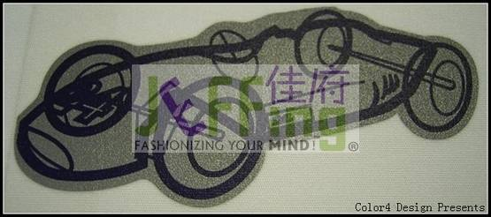 Heat transfer graphic,heat transfer clothing,mark,label,flock,sublimation