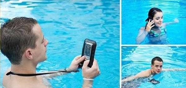 PVC waterproof pouch for iphone samsung waterproof gadgets