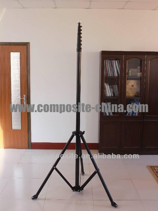 marine telescopic mast,antenna telescopic mast,carbon fiber telescopic pole