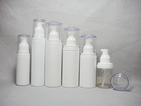 cosmetic plastic bottles pump lotion bottles