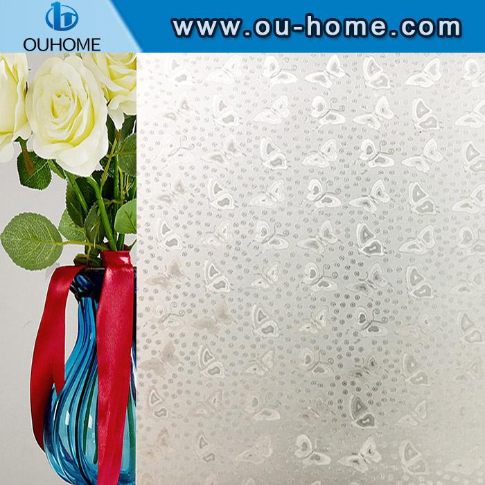 H007 3D No-Glue Static Decorative Privacy Window Film