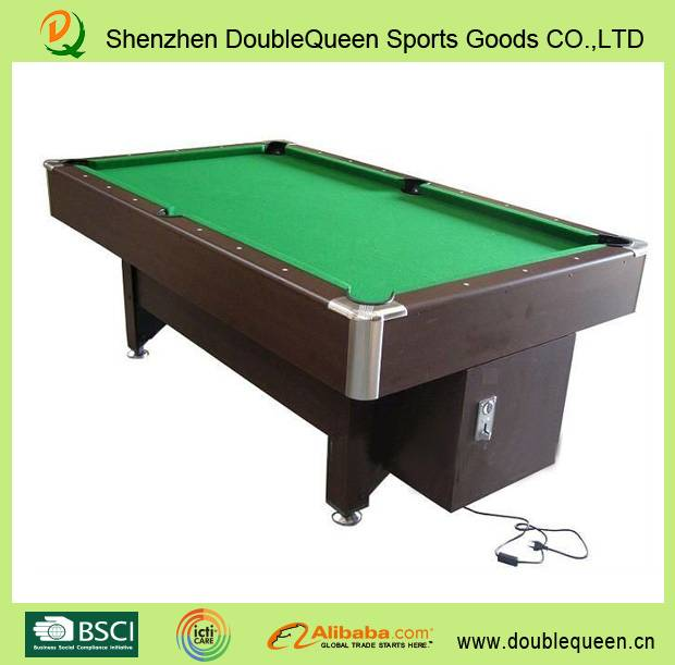 low price coin operated pool table/billiard table
