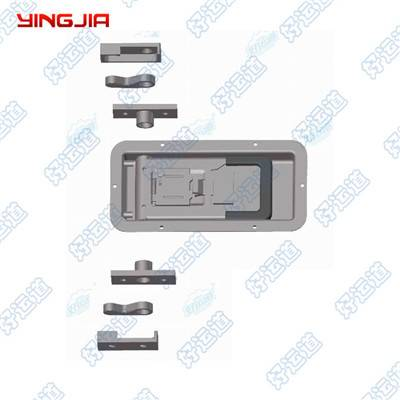 02342DS Stainless Steel Recessed Locking Handle