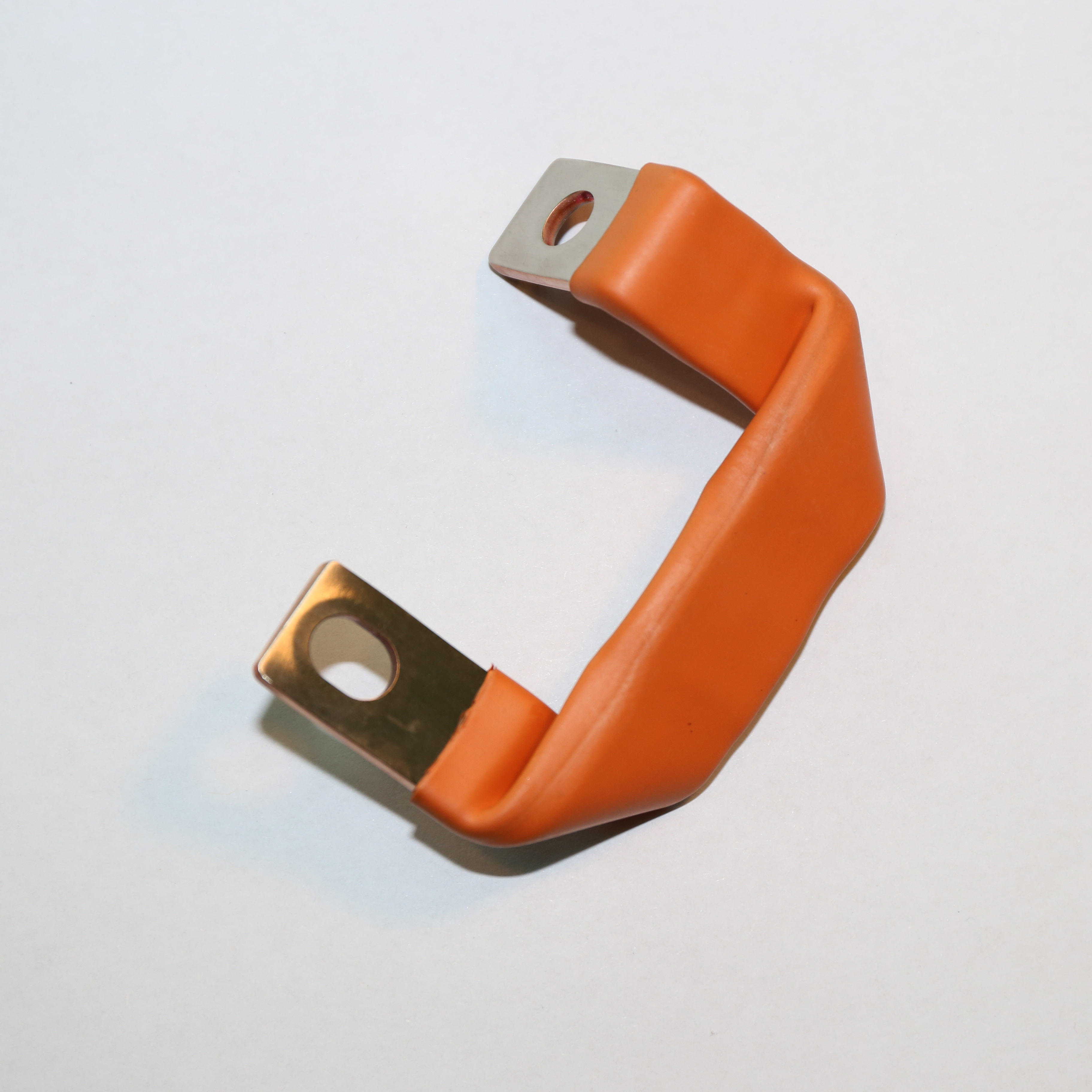 copper laminated flexible strip connection and copper tapes busabr connector
