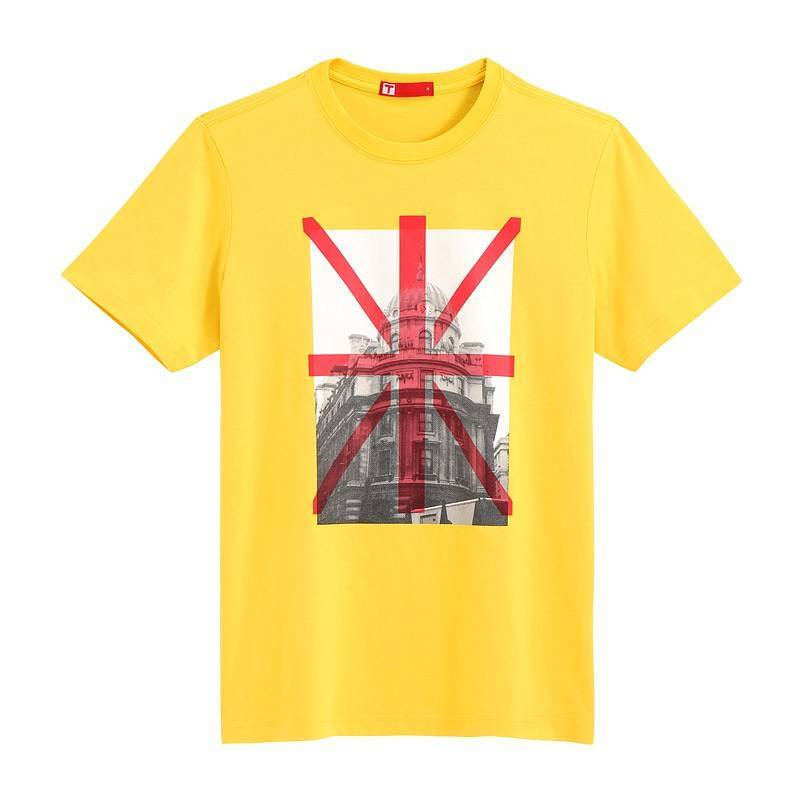 Saint Paul Short Sleeve T-shirt (Men) Yellow