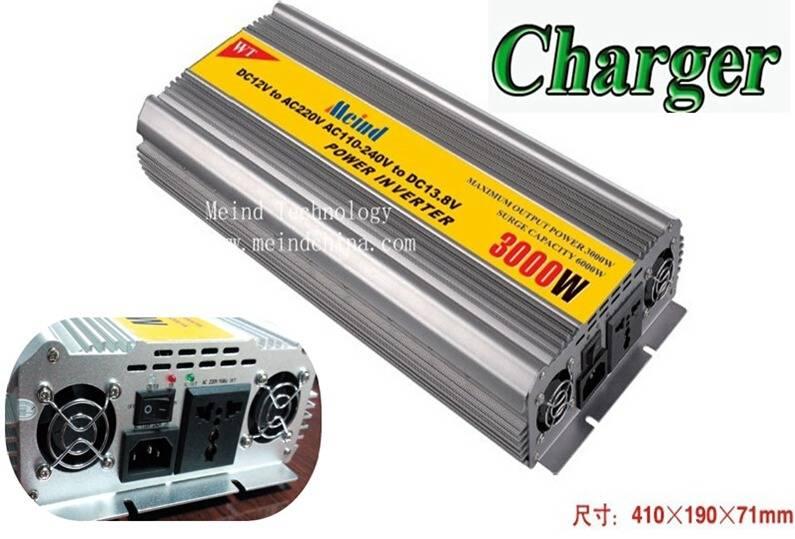 3000W Car Power Inverter DC to AC UPS Charger Converter Adapter Adaptor Transformer