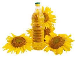 sunflowers and olive oil