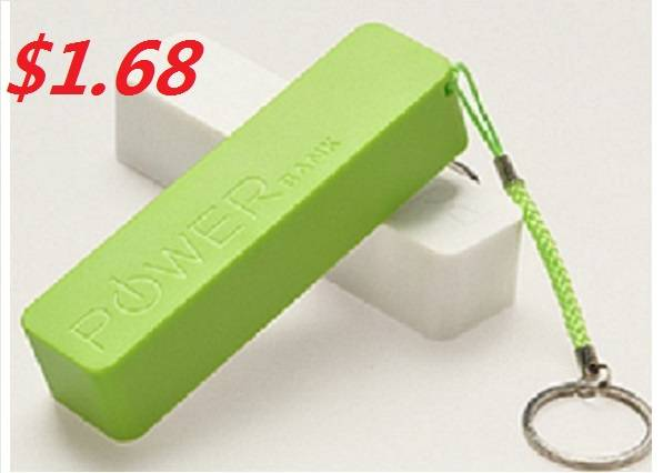 Perfume 18650 Lithium Battery Portable Power Bank for Mobile Phones