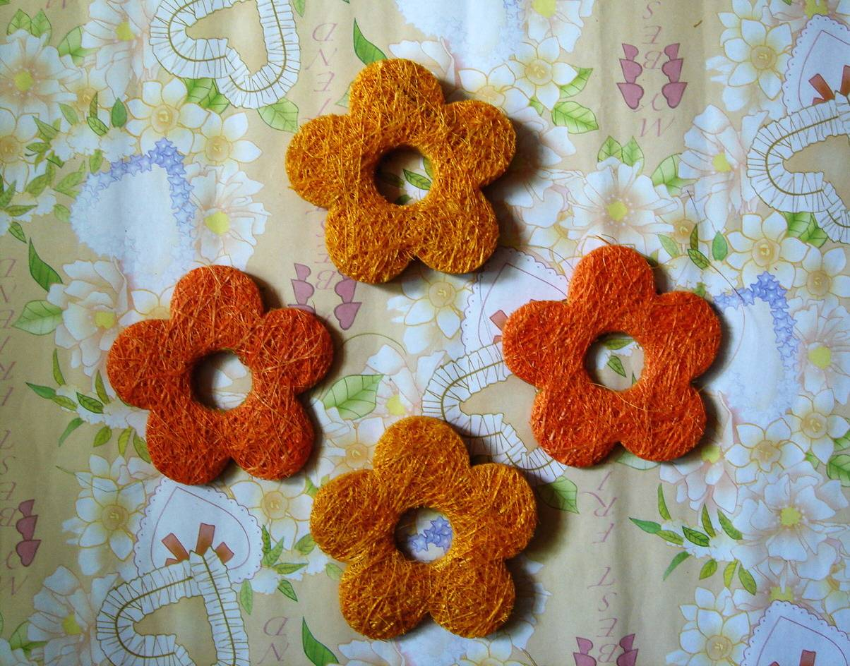 Hand-made Plant Craft ( Flower -1)