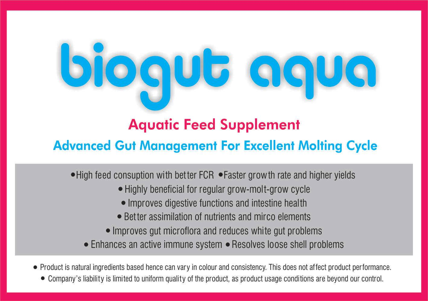 Effective Fish Feed Probiotic