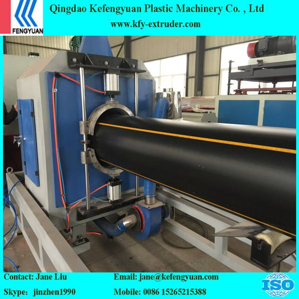 Three layers HDPE pipe making machine