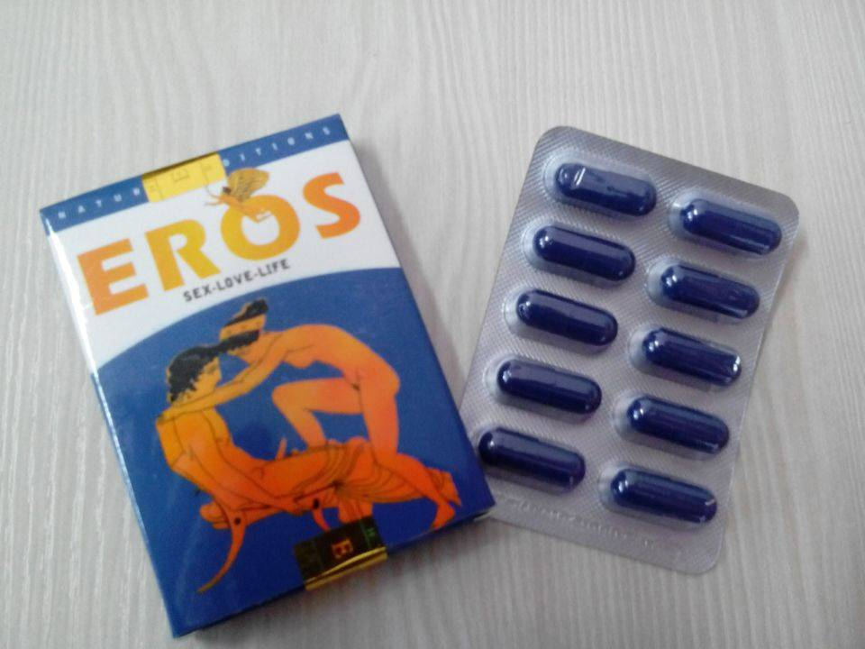 Offering strong natural sex capsule EROS