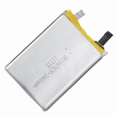 Lithium Polymer Battery 104767 with 3400mAh capacity