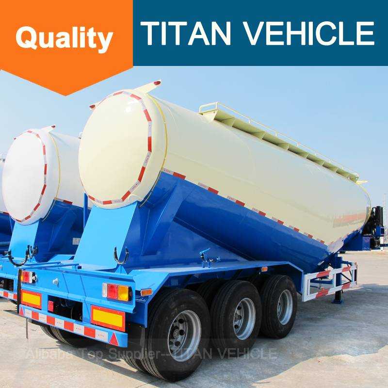 TITAN Cement Bulk Trailers bulk cement tank semi trailer for sale