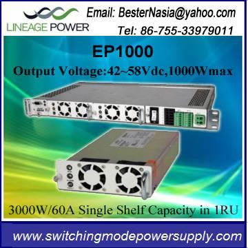 Lineage EP1000 1000W 54V Rectifier Module