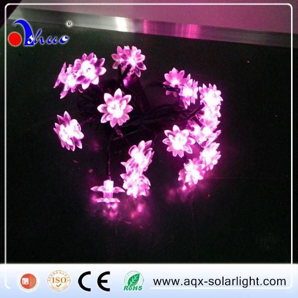 Solar LED string light, holiday light