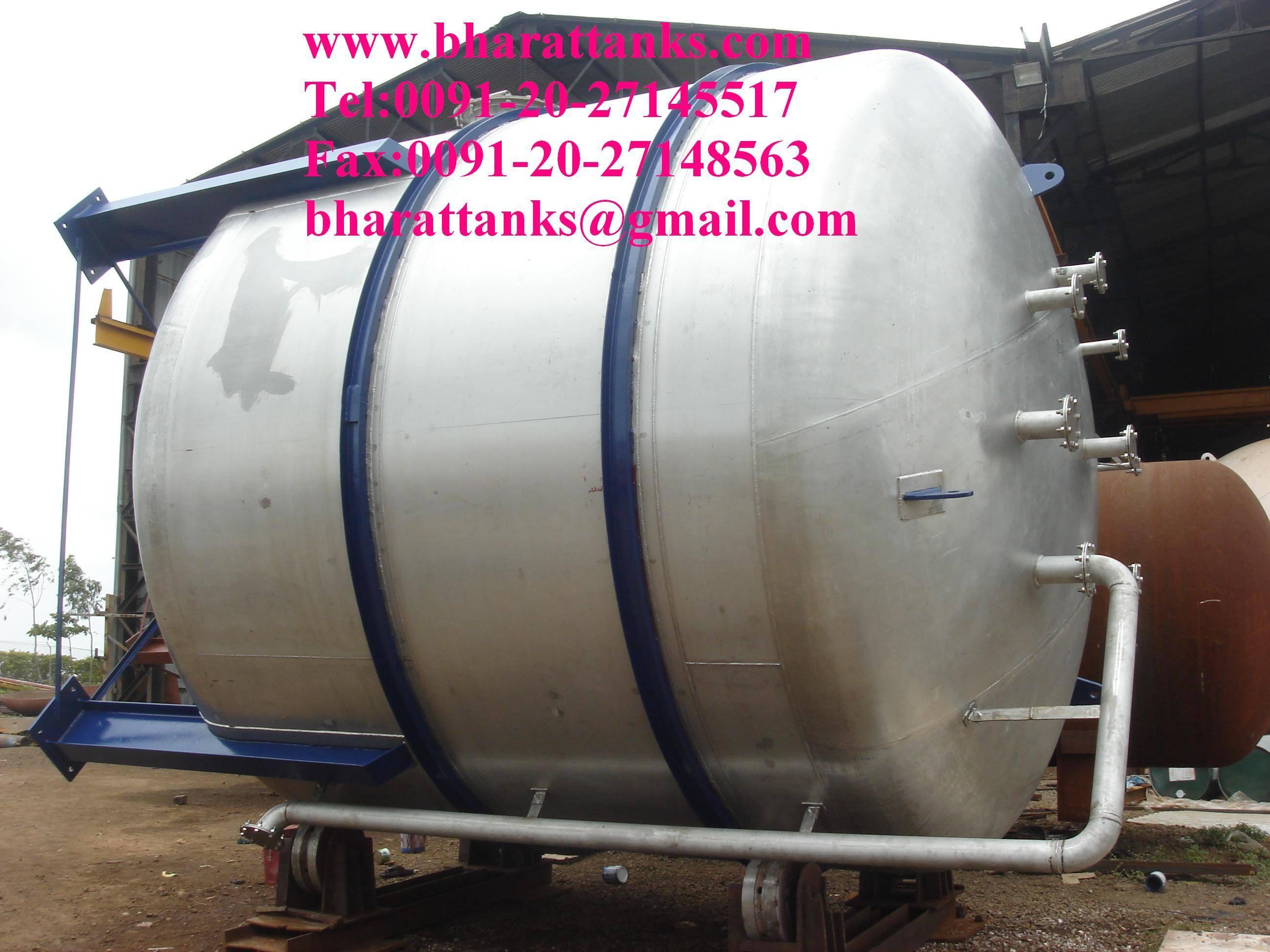 Ethanol gas storage tank