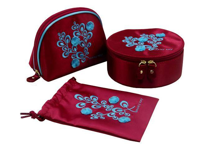 sewing embroidery make up cosmetic bags set