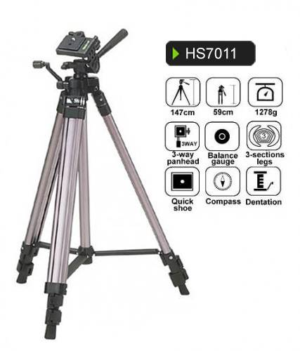 Sector tripod HS7011