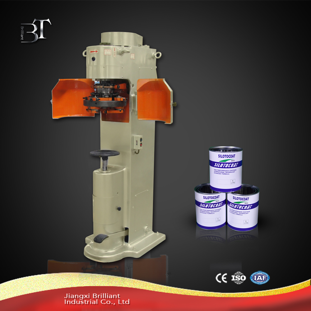 High quality manual tin can sealing machine for round can