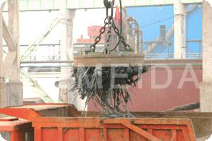 Lifting Electromagnet (Lifting Magnet) for Steel Scraps