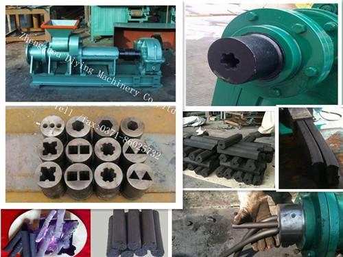 high output charcoal/coal stick machine/coal Stick extruding/extruder machine