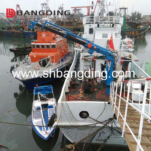 Electric Shipyard Hydraulic Cargo Crane