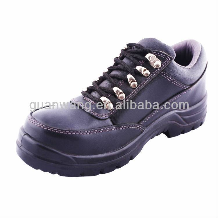 PU Injection/outsole PU/Dobble Density Steel Toe Working Safety Shoes