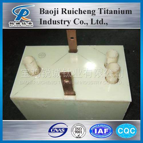 platinum electrolytic cell