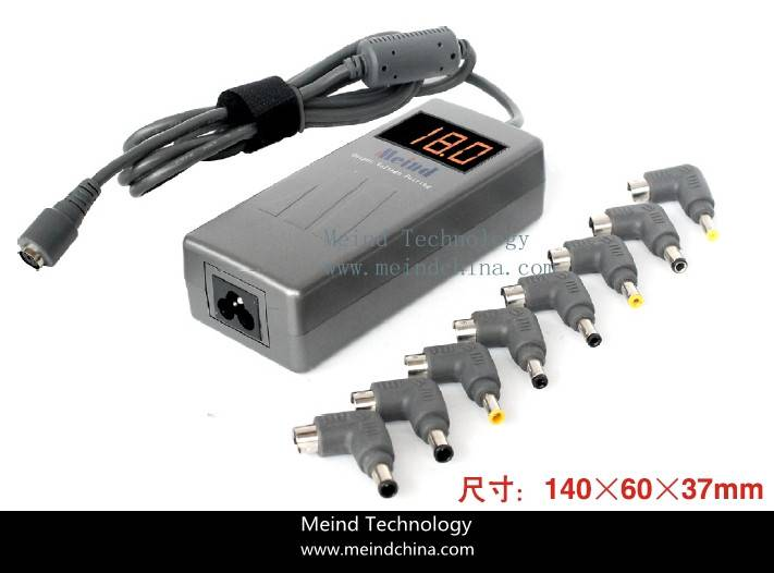 High Quality Laptop AC Adapter Universal Notebook 90W USB Power Supply Charger Meind