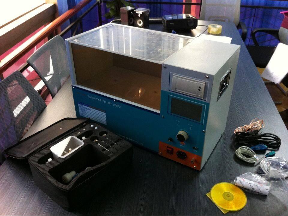 BDV Testing Transformer Oil Test Equipment, 100kV Transformer Oil BDV