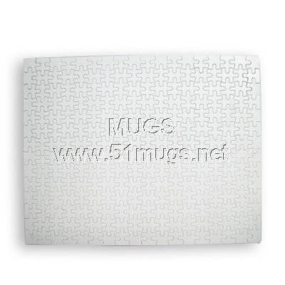 sublimation puzzle DIY puzzle coating surface
