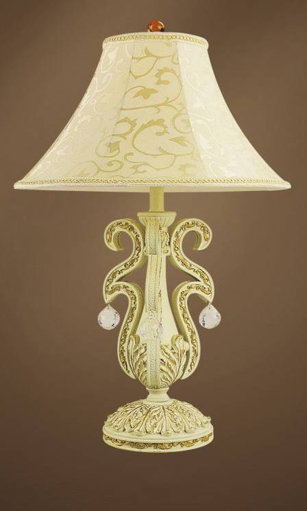Hot sale european style table lamp with led light