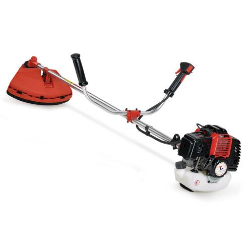 Gasoline Brush Cutter with Metal Blade