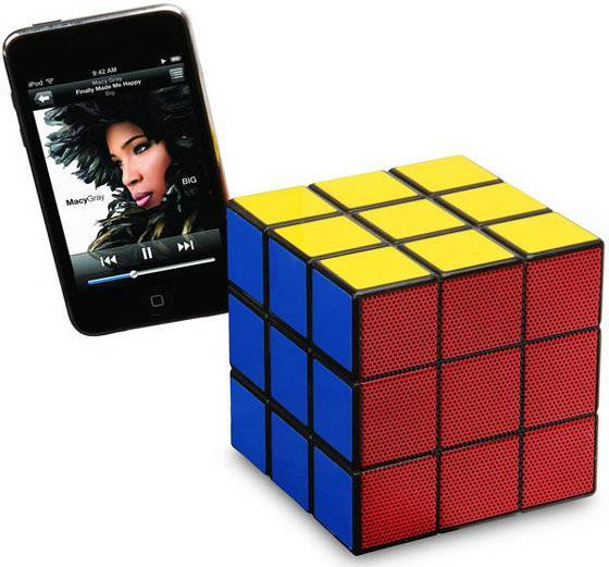 Mighty Rubik's Cube Speaker
