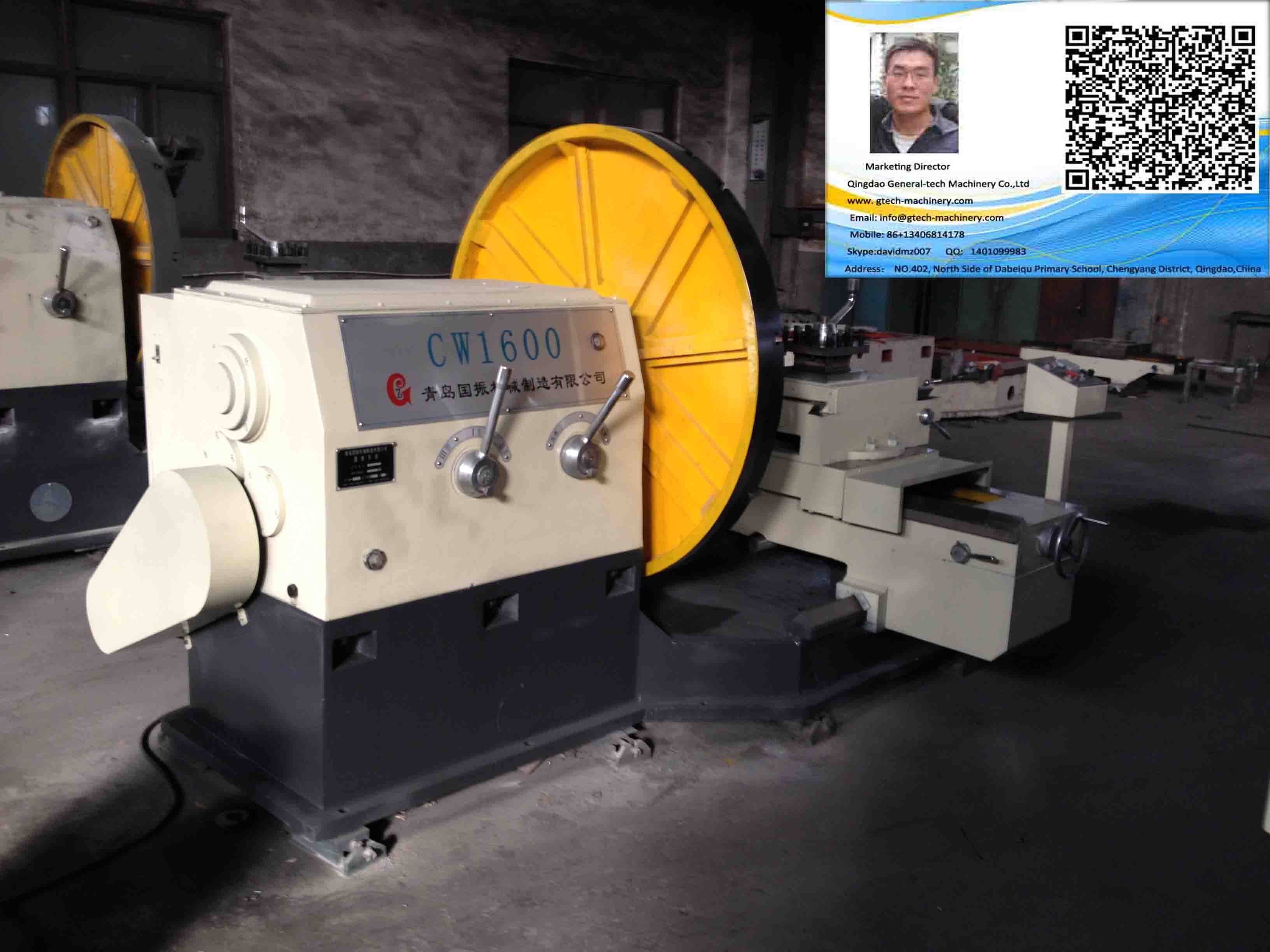 China Low Price Flange Ring Parts Heavy Duty Surfacing Lathe Machine