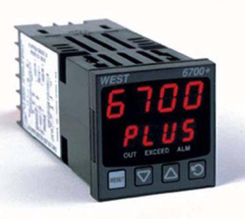 West P6700 1/16 DIN FM Approved Limit Controller