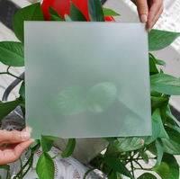 satin-like effect glass etching powder